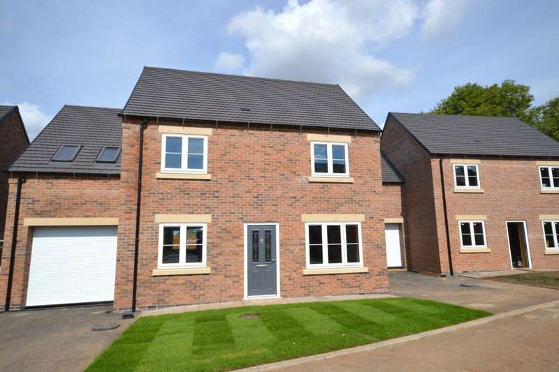 3 Bedrooms Detached House for sale in Off Ashby Road, Woodville, Swadlincote, DE11