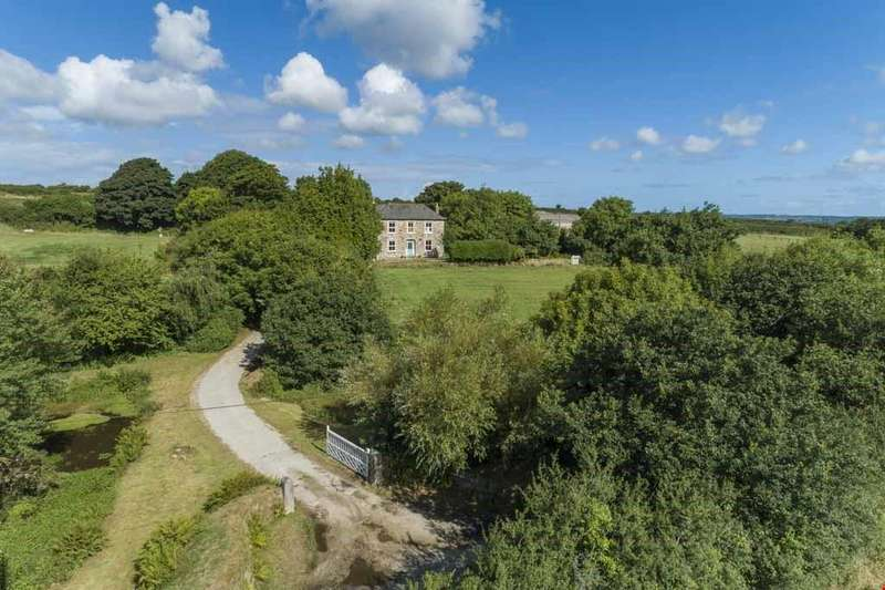 4 Bedrooms Farm House Character Property for sale in Laity Moor, Ponsanooth, Truro, Cornwall, TR3