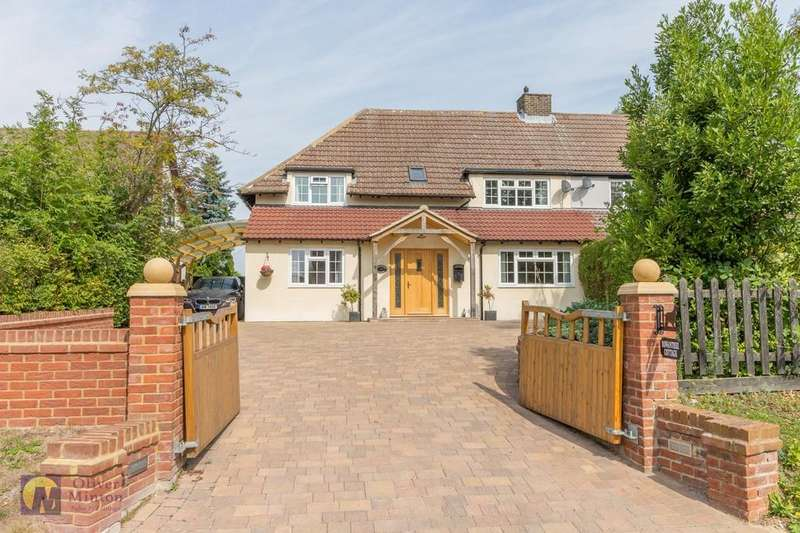 4 Bedrooms Semi Detached House for sale in Rowantree Cottage, Little Hormead