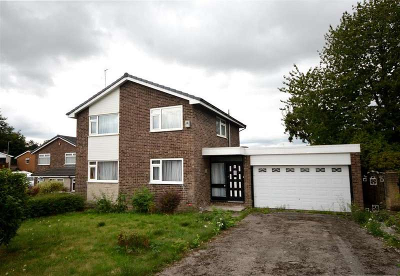 4 Bedrooms Detached House for sale in Kent Drive, Congleton