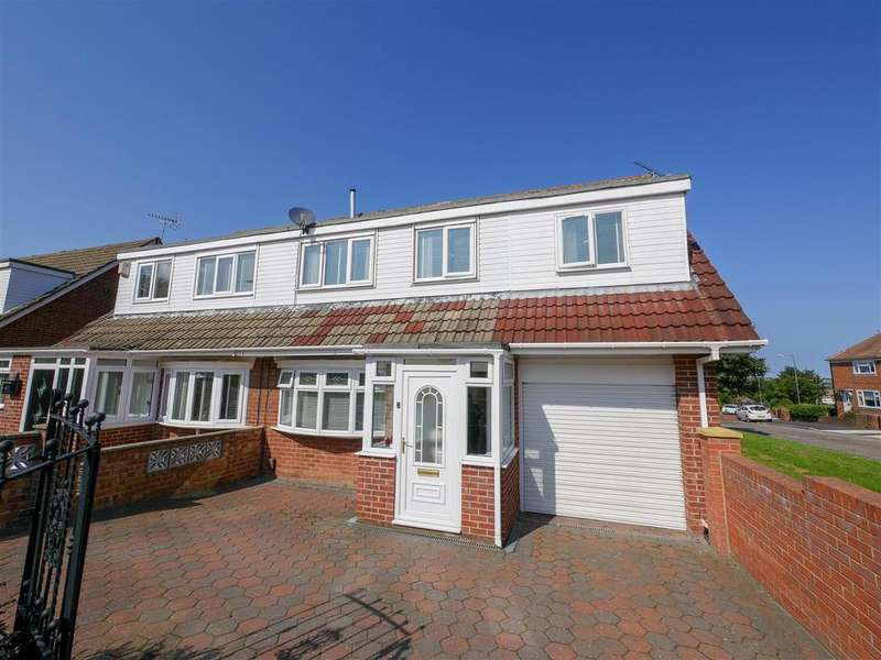 4 Bedrooms Semi Detached House for sale in Spa Well Drive, Wear View, Sunderland