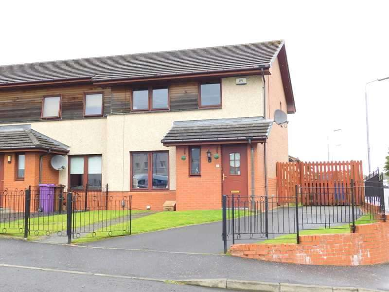 3 Bedrooms End Of Terrace House for sale in Bressay Place, Barlanark, Glasgow