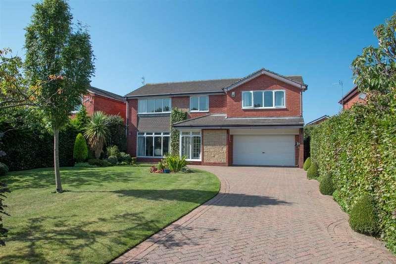 5 Bedrooms Detached House for sale in Romford Close, Barns Park, Cramlington