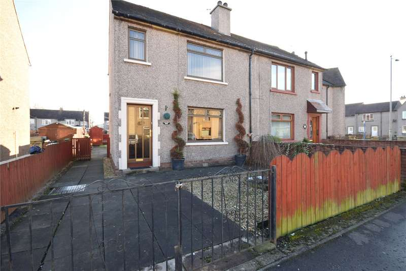 2 Bedrooms Semi Detached House for sale in Haig Street, Grangemouth, Stirlingshire, FK3
