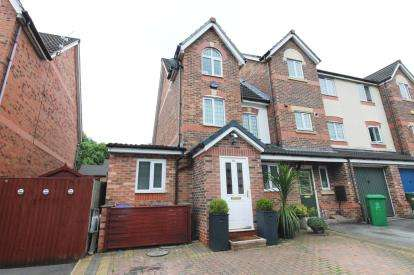 3 Bedrooms Terraced House for sale in Northumberland Way, Sharston, Manchester, .
