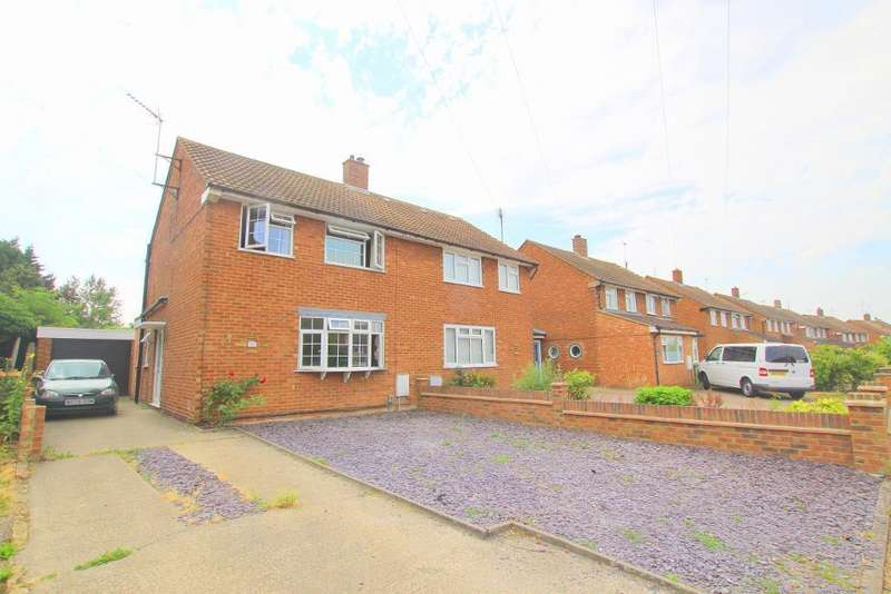 3 Bedrooms Semi Detached House for sale in Hastings Road, Barton-Le-Clay, Bedfordshire, MK45 4NJ