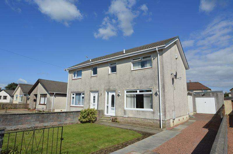 3 Bedrooms Semi-detached Villa House for sale in Connell Crescent, Mauchline