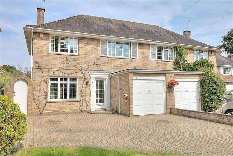 4 Bedrooms Semi Detached House for sale in Scantabout Avenue, Scantabout, Chandlers Ford, Hampshire