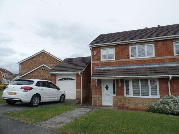 3 Bedrooms Semi Detached House for sale in WILLERBY GROVE, PETERLEE, PETERLEE