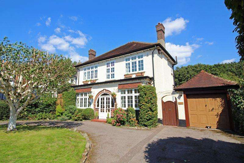 4 Bedrooms Detached House for sale in Onslow Gardens, Sanderstead, Surrey
