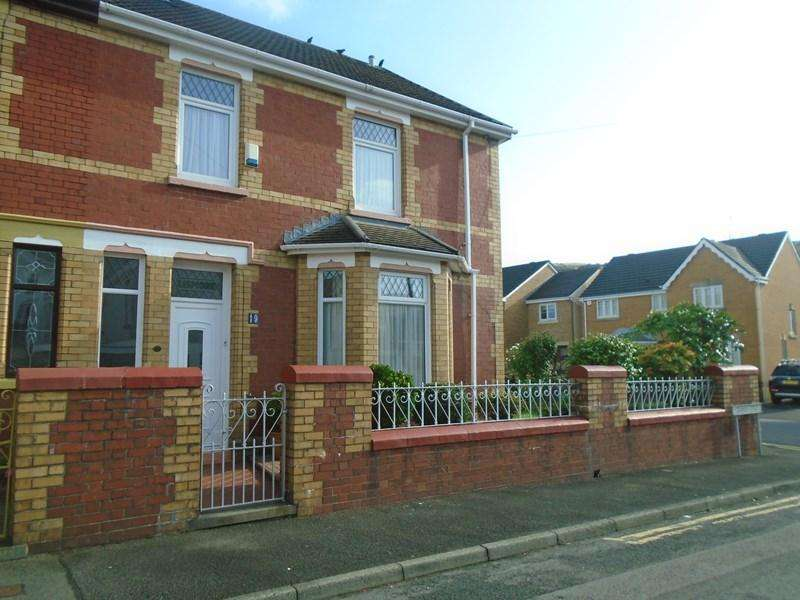 4 Bedrooms Semi Detached House for sale in Grawen Street, Porth