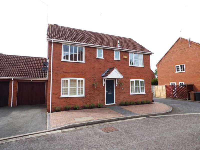 4 Bedrooms Detached House for sale in Burwell Reach, Botolph Green, Peterborough