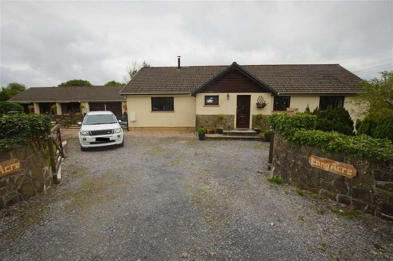 4 Bedrooms Detached Bungalow for sale in Mynyddcerrig, Llanelli
