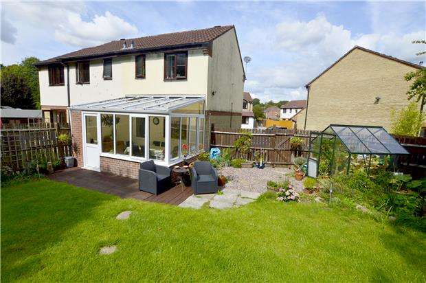 2 Bedrooms Semi Detached House for sale in Stanley View, Dudbridge, Gloucestershire, GL5 3NJ