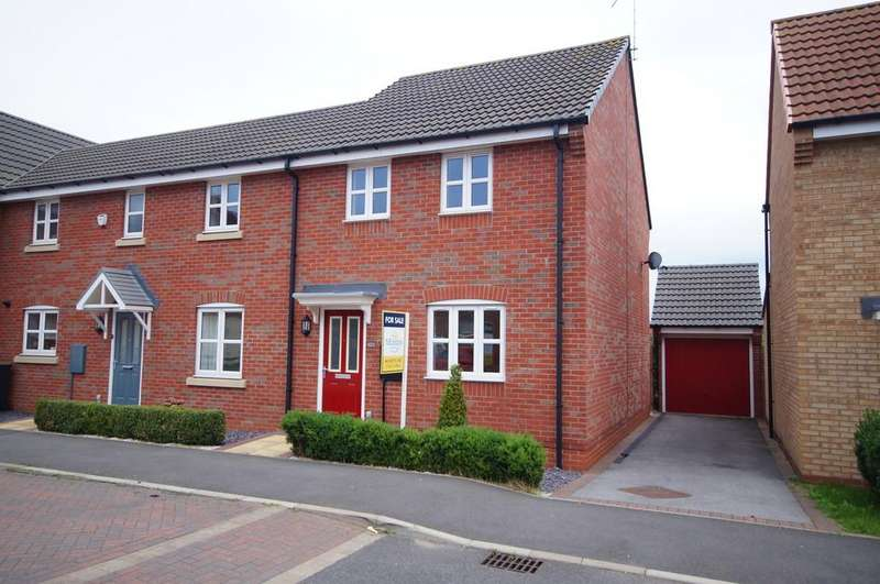 3 Bedrooms Town House for sale in Maximus Road, North Hykeham, Lincoln