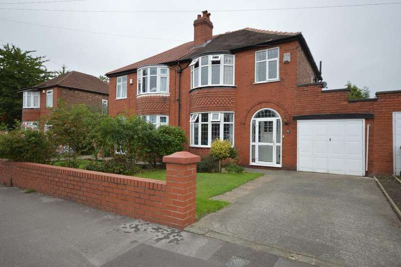 3 Bedrooms Semi Detached House for sale in Burnage Lane, Heaton Mersey
