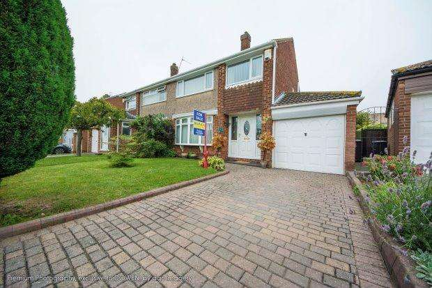 3 Bedrooms Semi Detached House for sale in ASHBY GROVE, FENS, HARTLEPOOL
