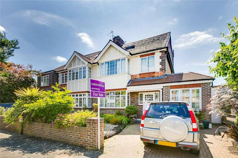 5 Bedrooms Semi Detached House for sale in Ullswater Road, Barnes, London
