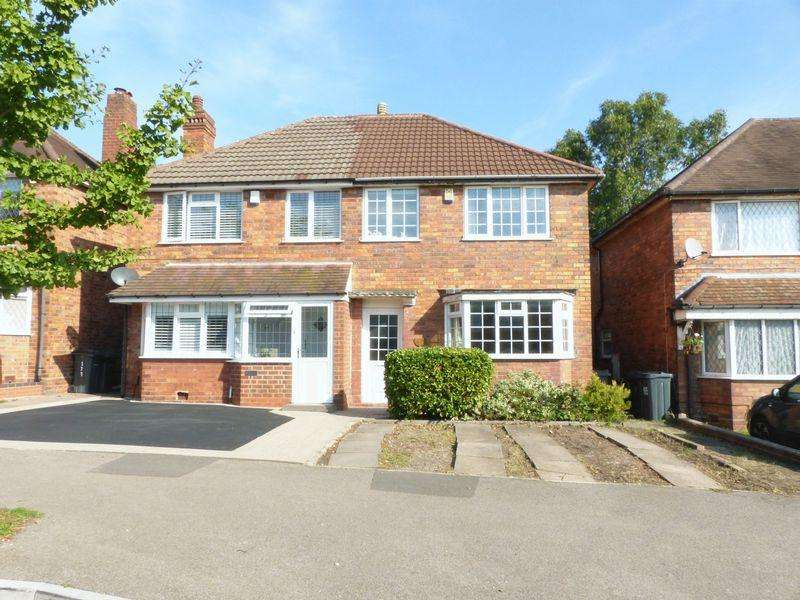 3 Bedrooms Semi Detached House for sale in Tideswell Road, Great Barr
