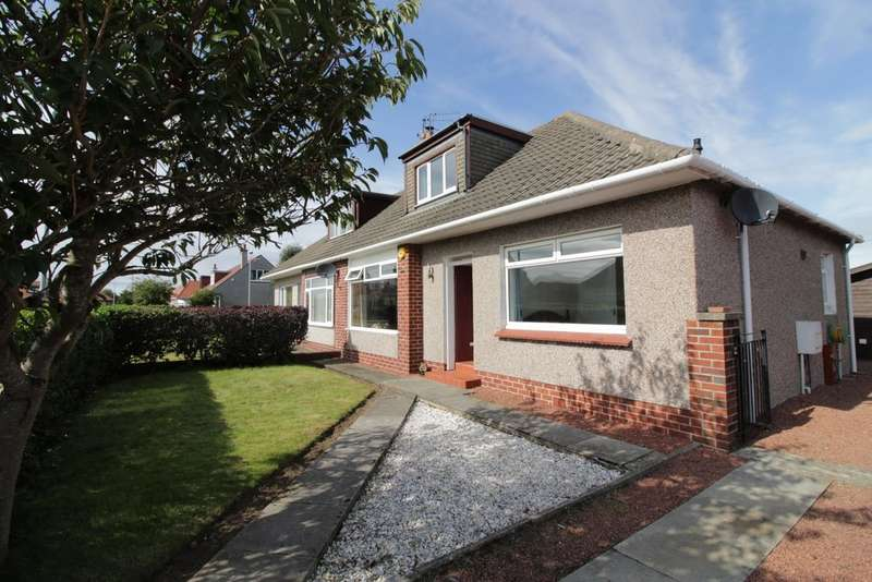 3 Bedrooms Semi Detached Bungalow for sale in Kenmore Avenue, Prestwick, KA9