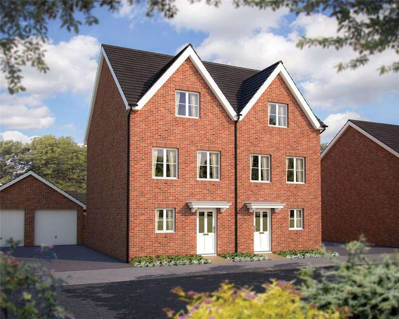 3 Bedrooms Semi Detached House for sale in Hyde End Road, Shinfield, Berkshire, RG2