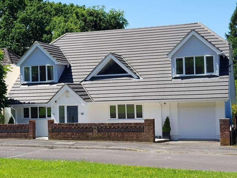 4 Bedrooms Chalet House for sale in Lonnen Road, Wimborne