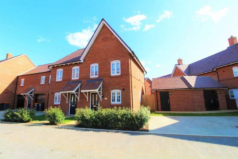 2 Bedrooms Semi Detached House for sale in Hilda Close, Great Denham MK40
