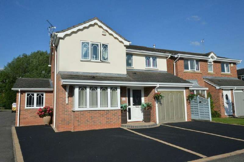 4 Bedrooms Detached House for sale in Needwood Way, Narborough, Leicester