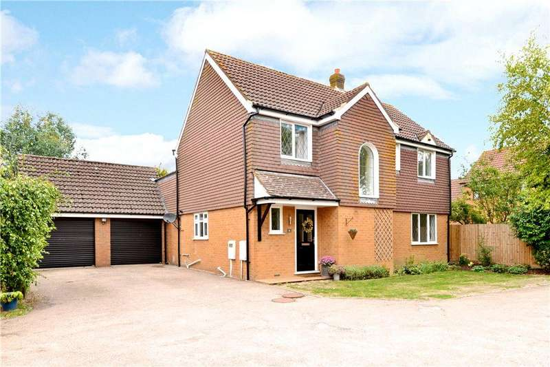 4 Bedrooms Detached House for sale in Sillswood, Olney, Buckinghamshire