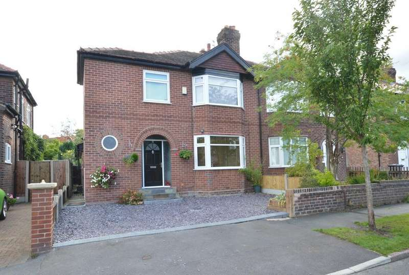3 Bedrooms Semi Detached House for sale in Worsley Road, Walton, Warrington