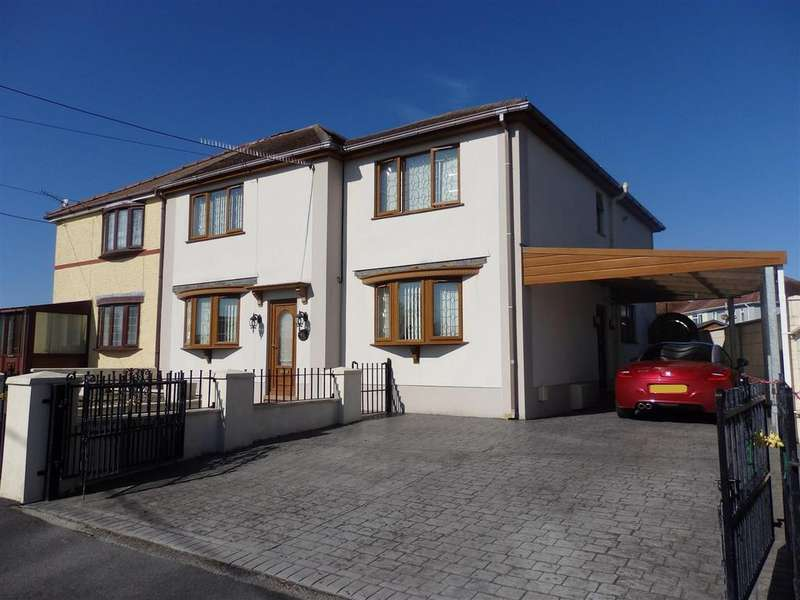 4 Bedrooms Semi Detached House for sale in Heol Vaughan, Burry Port
