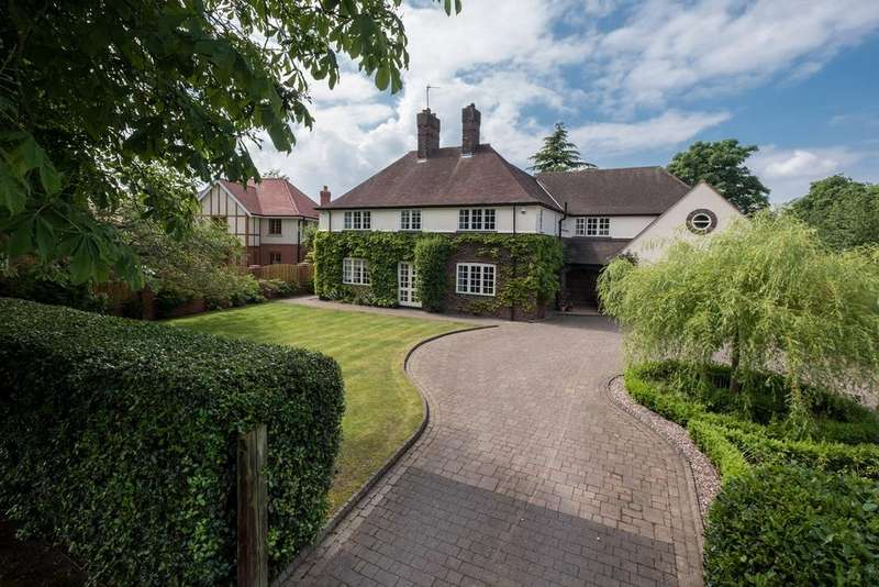 5 Bedrooms Detached House for sale in The Grange, Hartford, Northwich, CW8