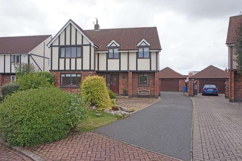 5 Bedrooms Detached House for sale in The Hermitage Cleveleys