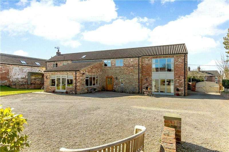 5 Bedrooms Detached House for sale in Copthorne Farm Barn, Main Street, Great Ouseburn, York, YO26
