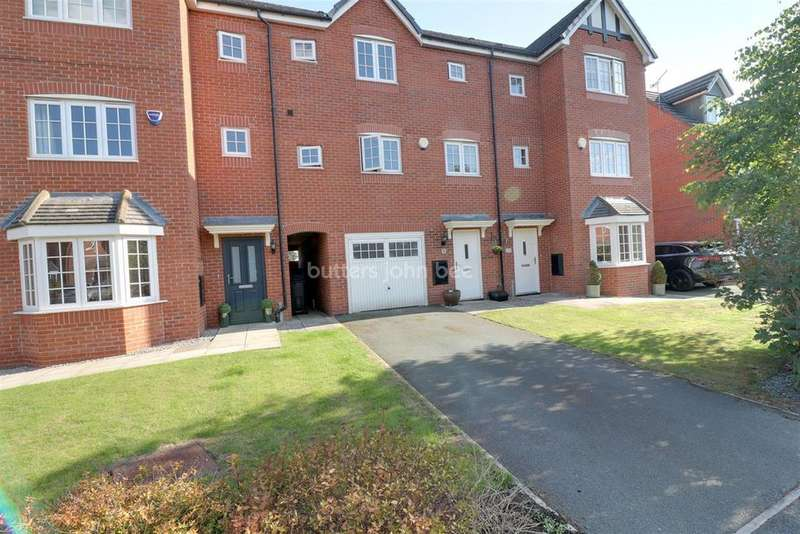 4 Bedrooms Town House for sale in Radcliffe Road, Winsford