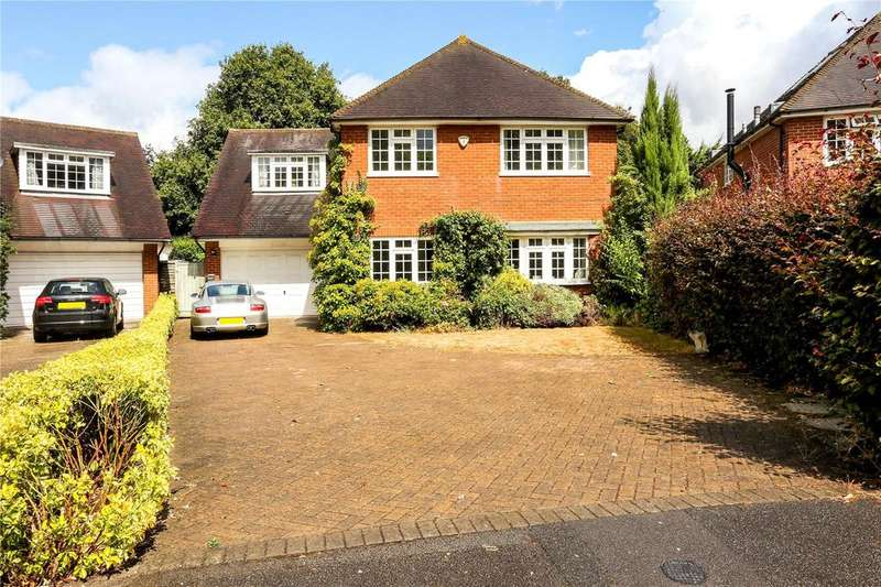 4 Bedrooms Detached House for sale in Cadogan Close, Holyport, Maidenhead, Berkshire, SL6