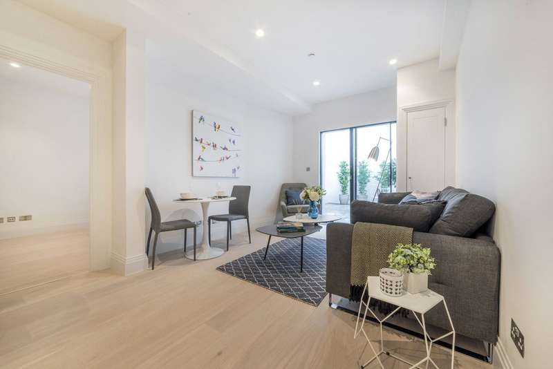 1 Bedroom Flat for sale in Bourlet Close, Fitzrovia, London, W1W