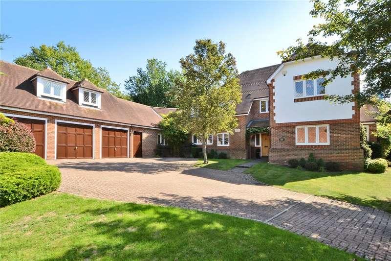 5 Bedrooms Detached House for sale in Cuddington Park Close, Banstead, SM7