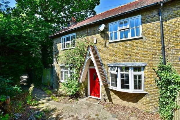3 Bedrooms Semi Detached House for sale in Furze Cottages, Denham Road, Iver Heath, Buckinghamshire