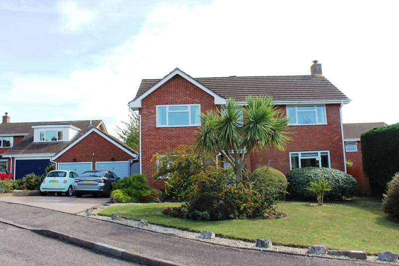 4 Bedrooms Detached House for sale in Winchester Drive, Exmouth