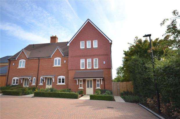4 Bedrooms End Of Terrace House for sale in Sorrel Drive, Warfield