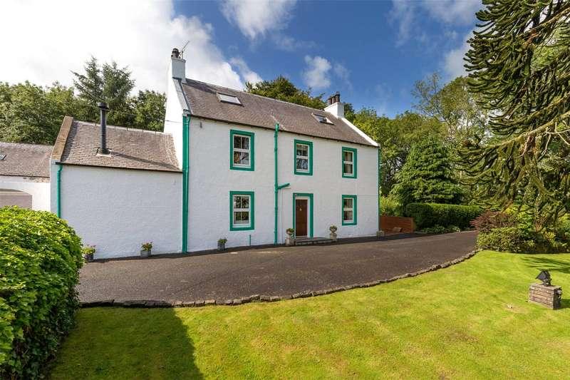 4 Bedrooms Detached House for sale in Dyke Farmhouse, Dyke Farm, By Straiton, South Ayrshire, KA19