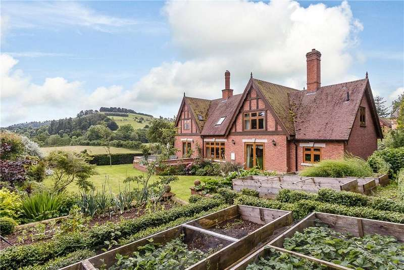 4 Bedrooms Detached House for sale in Bucknell, Shropshire, SY7