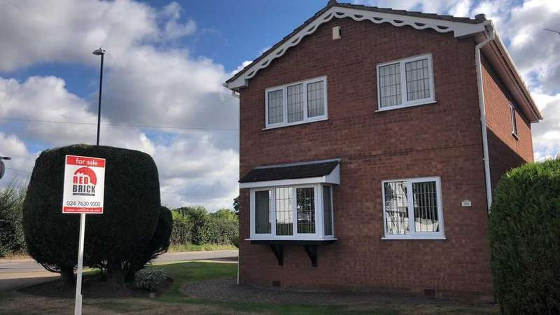 3 Bedrooms Detached House for sale in Bennetts Road Keresley, Coventry