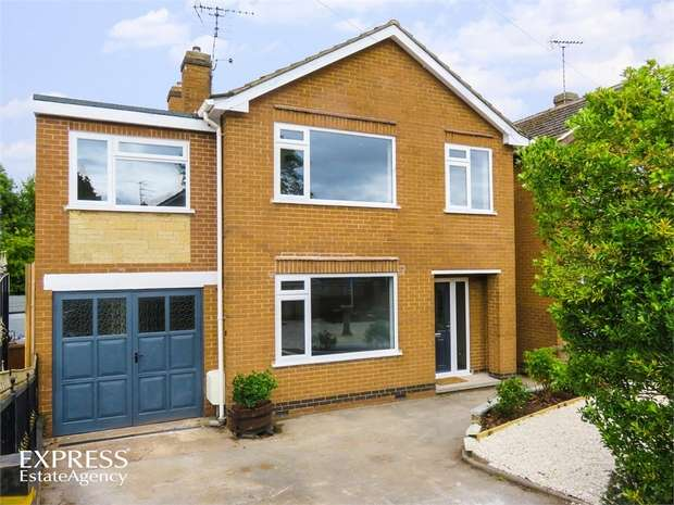 4 Bedrooms Detached House for sale in Henshaw Place, Ilkeston, Derbyshire
