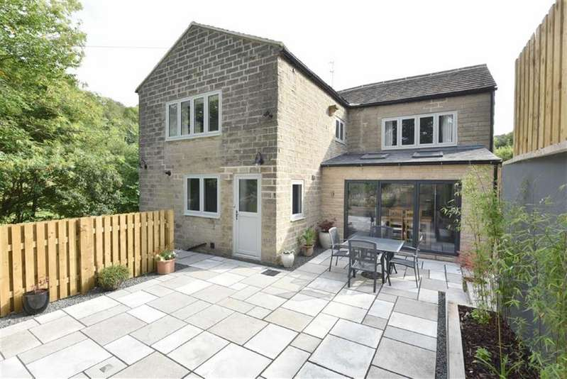 3 Bedrooms Semi Detached House for sale in Doone Cottage, Ladygrove Road, Two Dales, Matlock, Derbyshire, DE4