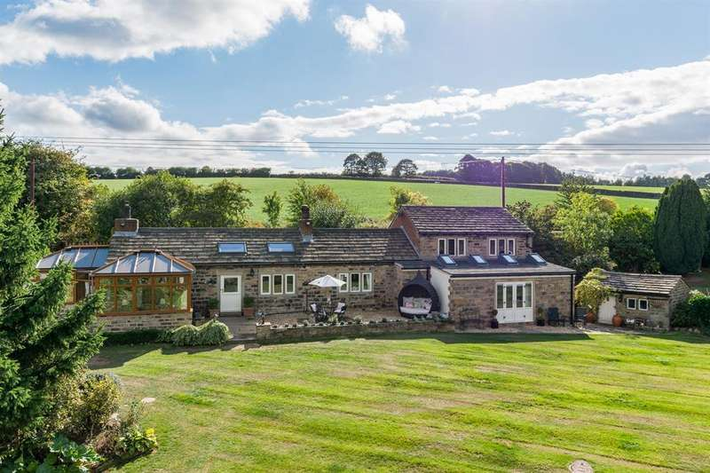 4 Bedrooms Detached House for sale in The Cottage, Helm Lane, Colne Bridge, HD5 0BX