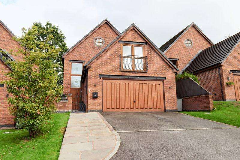 5 Bedrooms Detached House for sale in Horseshoe Drive, Macclesfield