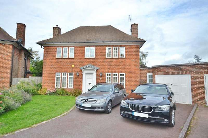 4 Bedrooms Detached House for sale in Coles Green, Bushey Heath