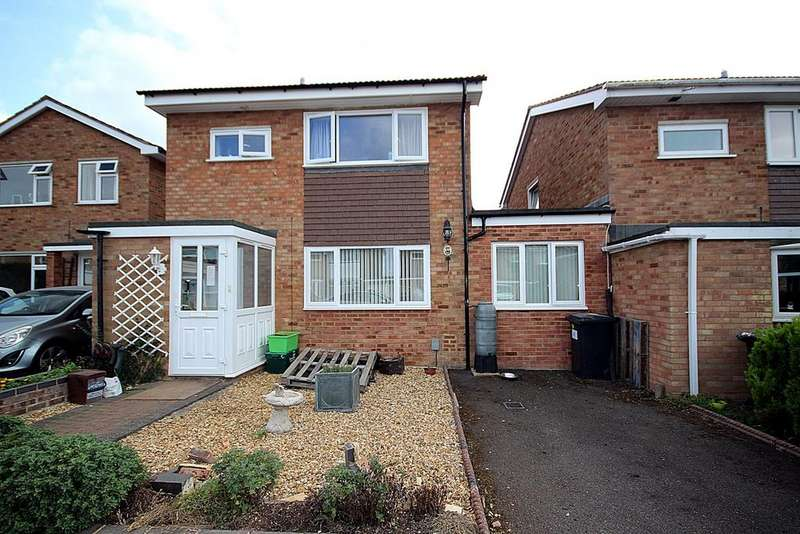 3 Bedrooms Link Detached House for sale in Flexmore Way, Langford, Biggleswade, SG18
